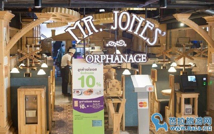 泰国曼谷泰迪熊甜品店Mr.Jones    少女心的你怎能错过?