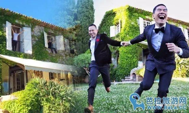 泰国名嘴Woody与丈夫法国戛纳电影行浪漫甜蜜照似婚纱照