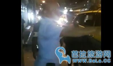 芭提雅出租司机与优步司机马路上再开骂战   矛盾升级