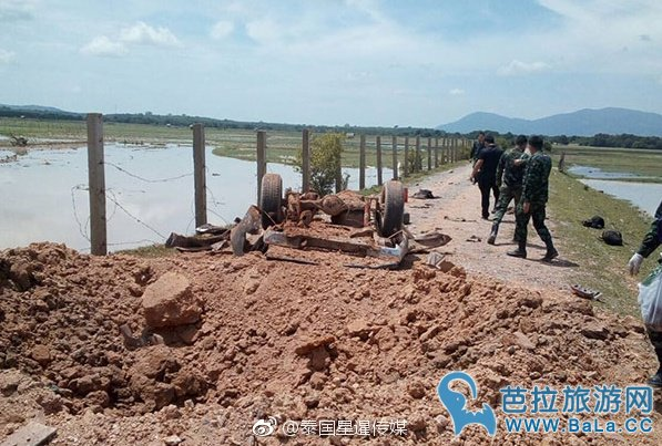 泰国南部北大年军人遭遇地雷致6人死亡
