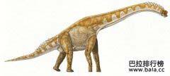世界上最大的恐龙十大排行榜