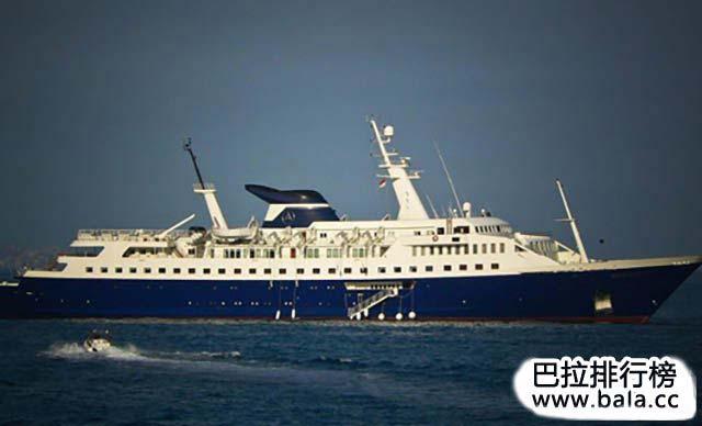 没有中国的揭秘全球十大私人豪华游艇
