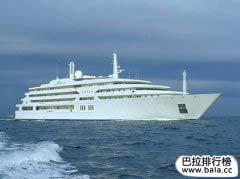 世界上十大豪华私人游艇,全球十大超级私人游
