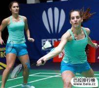 世界羽毛球十大美女,个个都是运动场风景线!