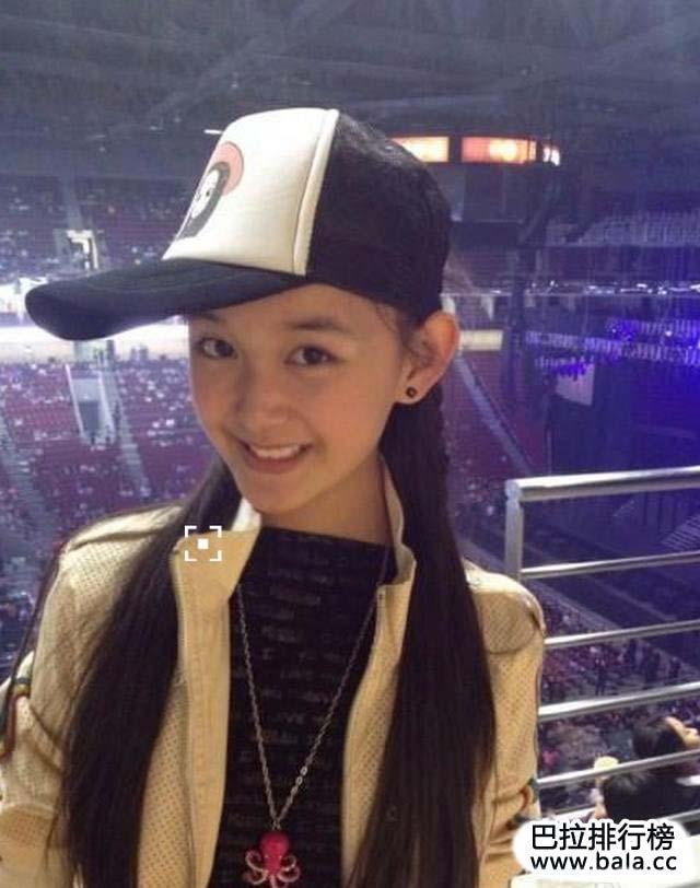中国十大最漂亮童星排行榜