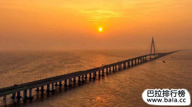 中国10大世界级跨海大桥,桥梁大国至强国的丰碑(1)