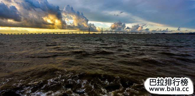 中国10大世界级跨海大桥,桥梁大国至强国的丰碑(3)