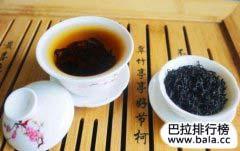 中国最新十大名茶排行榜