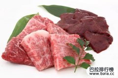 世界排名前十的顶级牛肉,日本牛肉占据前三名