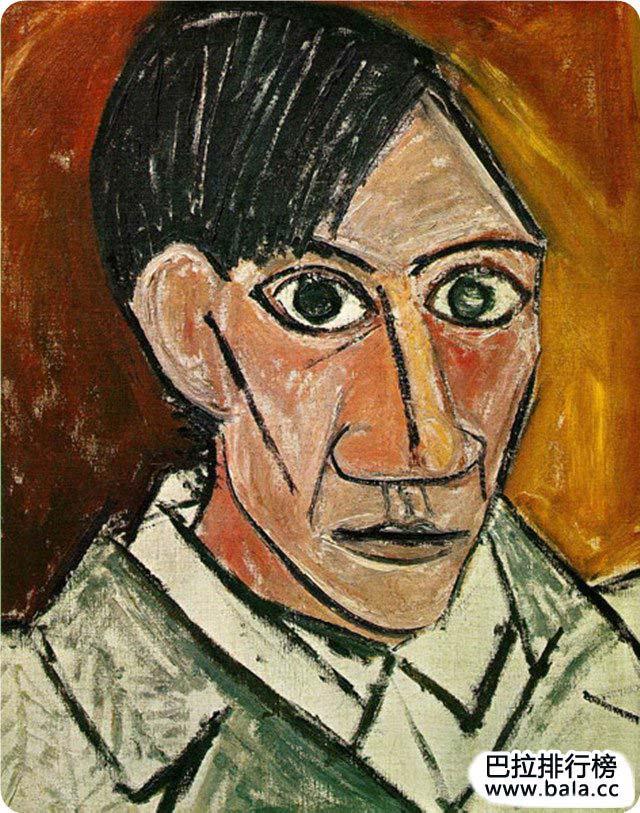 毕加索自画像