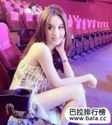 泰国最美人妖排行榜前十名