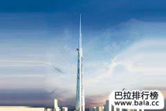 世界十大最高建筑排名2018
