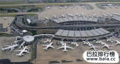世界最大的国际机场排名TOP10,中国上榜三个