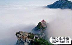 江西著名旅游景点排行榜 江西旅游必去十大景点