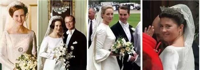 ▲从左至右:丹麦女王储玛格丽特、丹麦公主贝内迪克特、