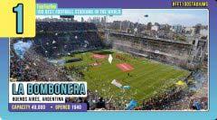 盘点世界上十大最负盛名的足球场