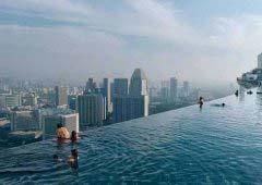 带你畅游世界上最任性最奇葩的十大游泳池