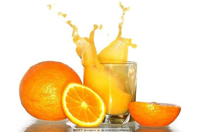 橙子和橙汁