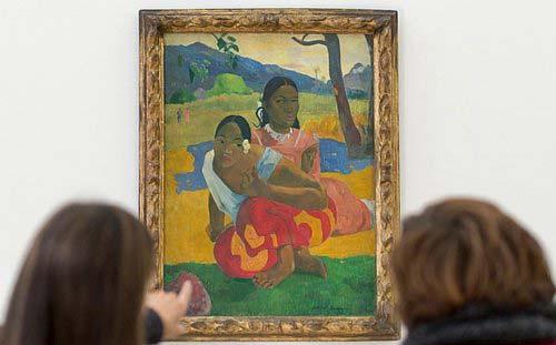 世界上拍卖最贵的十大名画 高更的名作排名第一