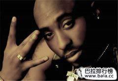 盘点世界排名前十rapper,2Pac排名第一