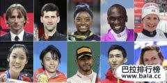 2018年国际十佳运动员榜单 中国武大靖朱婷上榜