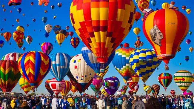 新墨西哥州阿尔伯克基国际气球嘉年华