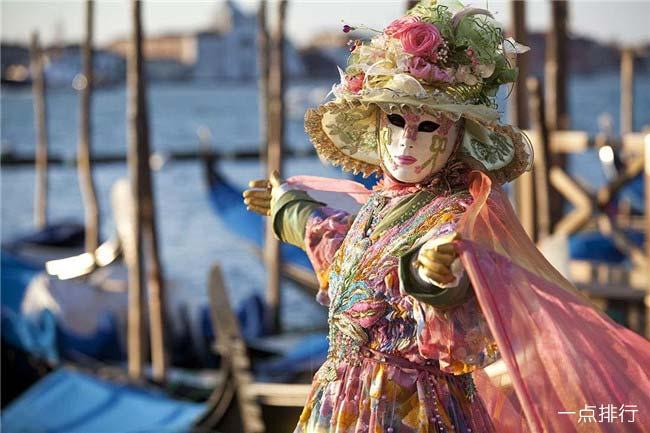 意大利威尼斯狂欢节