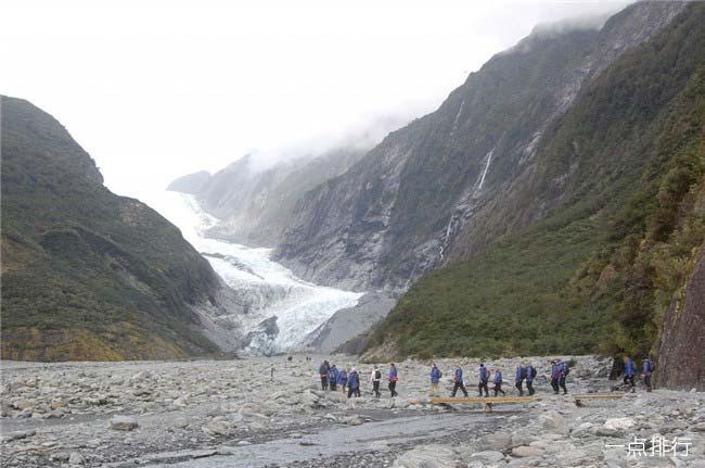 福克斯冰川和弗朗茨约瑟夫冰川
