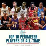 盘点NBA历史十大外线球员 乔丹詹姆斯科比上榜