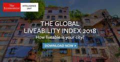 全球140个最宜居城市排名 中国10个城市入选榜单