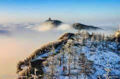 中国十大避暑名山排行榜 中国名山风景排名