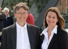 盘点全球十大最富夫妻排名 盖茨夫妇排第一位