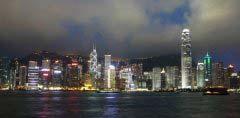 全球夜景最美的十大城市排名 中国香港和上海上