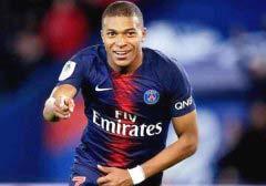 法国足球球员身价排名前十位 姆巴佩身价达2亿欧