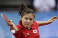 日本体坛十大美女运动员排名