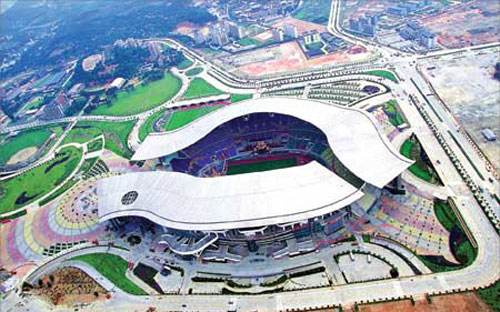中国体育馆排名  NO:5   广东奥林匹克体育场