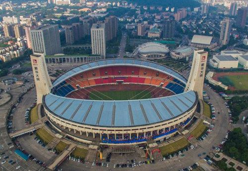 中国体育馆排名  NO:9 杭州黄龙体育中心