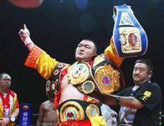 中国十大拳王最新排名 邹市明仅排名第三