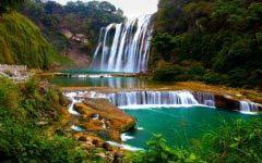 中国瀑布哪里最漂亮 中国十大最著名瀑布排名