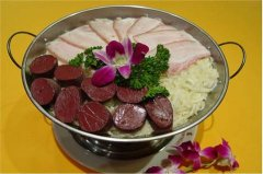 长春十大特色美食排行 白肉血肠是长春有名的美