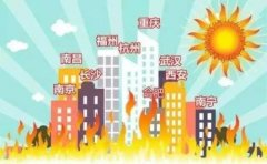 新四大火炉是哪几个城市 中国四大火炉城市排名