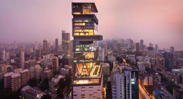 亚洲十大豪宅排行榜,第一名是印度的安蒂拉!