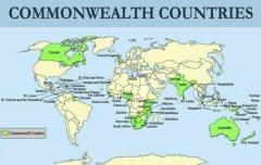 现在英联邦国家有哪些 加拿大和澳洲都是英联邦