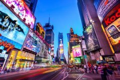 美国十大最富裕城市排名 纽约第一洛杉矶第二
