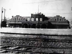 中国第一个火车站--唐山站,始建于1878年