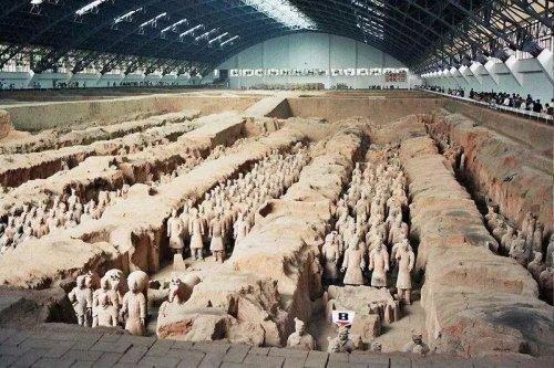 中国十大古墓排名 秦始皇陵排名第一位