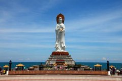 世界上最高的海上观音像 比自由女神还要高15米