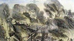 人类历史上十大著名火灾 火烧阿房宫排第二位