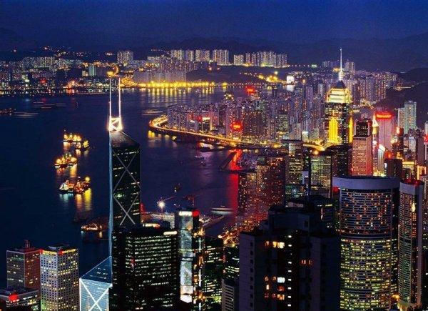 世界最美夜景十大城市,中国占了两个城市!