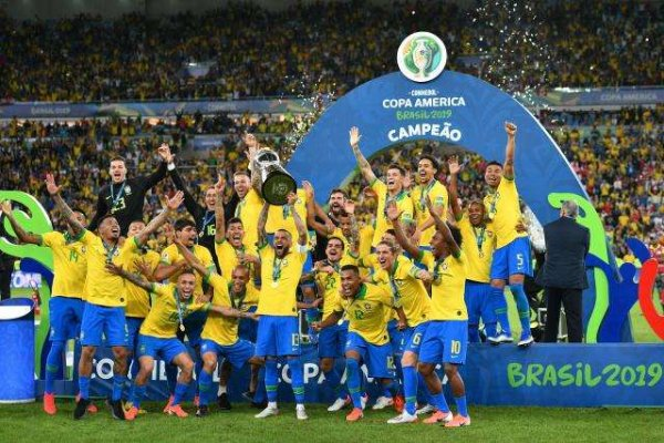 2019世界足球国家队最新排名 巴西第一法国第二